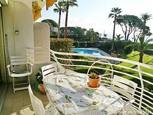 Eine Ferienwohnung in Südfrankreich: Eine Wohnung in Cannes mit einem Schlafzimmer (PR-709)