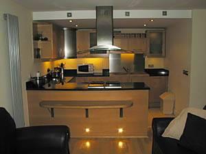 Eine Unterkunft in London: Eine Ferienwohnung in Canary Wharf mit einem Schlafzimmer (LN_512)