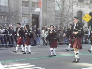 Feiern Sie Saint Patrick's Day in New York