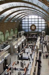 Ein Foto aus dem Inneren des Musee Orsay