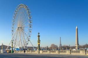 Wir feiern den Frühling mit der Foire du Trône in Paris