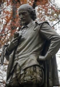 Shakespeares Statue im Central Park