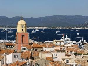 Der Hafen von Saint Tropez