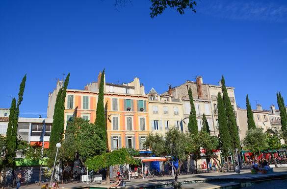 Foto vom Cours Julien in Marseille