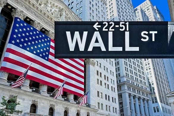 Bild der Wall Street in New York City