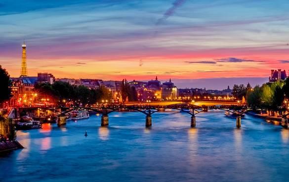 Die 5 schönsten Orte in Paris, um den Sonnenuntergang zu beobachten