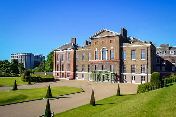 Imagen del Kensington Palace en la ciudad de Londres