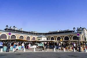 Bild des Rive Droite Markts in der Stadt