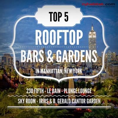 Top 5 New York City Dachterrassenbars