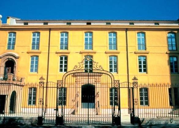 Bild des Sextius Badehauses in Aix-en-Provence