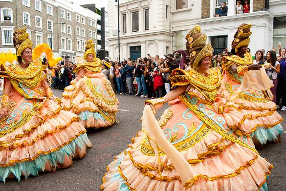 Bild des Londoner Notting Hill Carnival