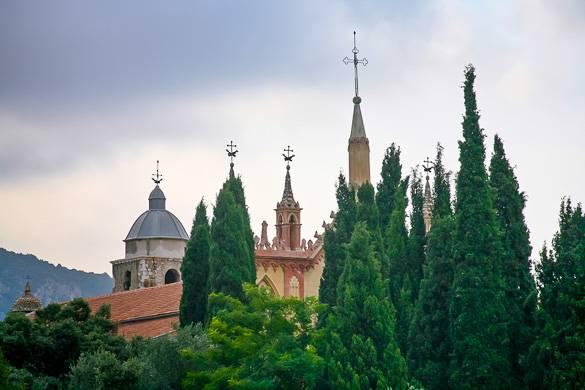 Foto vom Kloster in Cimiez in Nizza