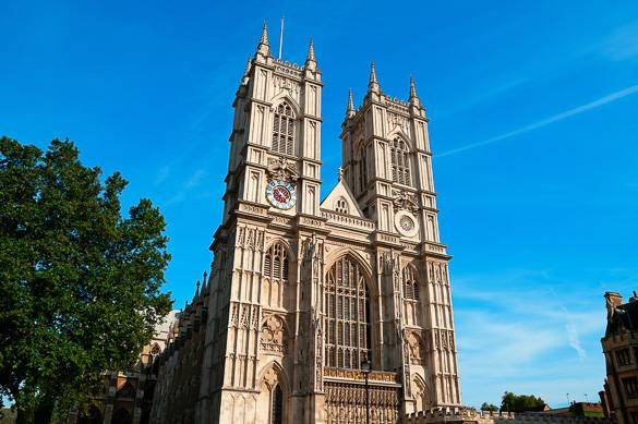 Foto der Westminster Abbey in London