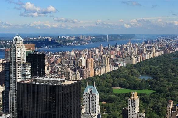 Bild von der Upper West Side und dem Central Park, Manhattan