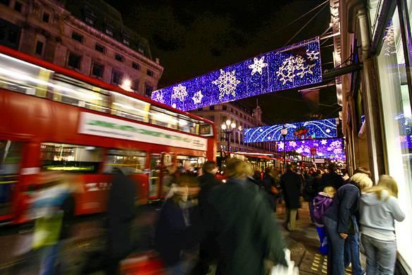 Besuchen Sie London während der Weihnachtszeit!