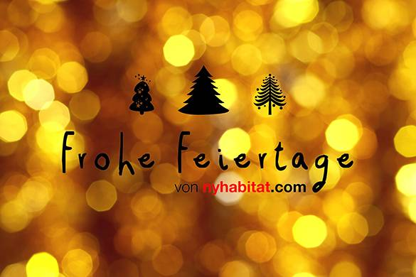 Frohe Feiertage 2013 von New York Habitat