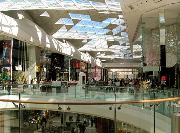 Bild des Westfield Shopping Centre in London