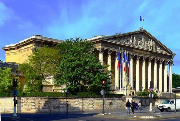 Bild der Nationalversammlung in Paris