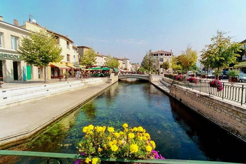 Bild des Dorfes L'Isle sur la Sorgue in der Provence