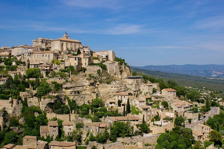Bild der Stadt Gordes in der Provence
