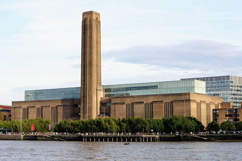 Bild von der Tate Modern: eine Nationalgalerie in Londons Southwark