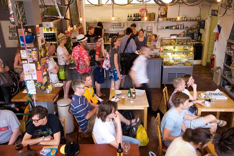 Bild von Look Mum No Hands!, einem Londoner Coffeeshop
