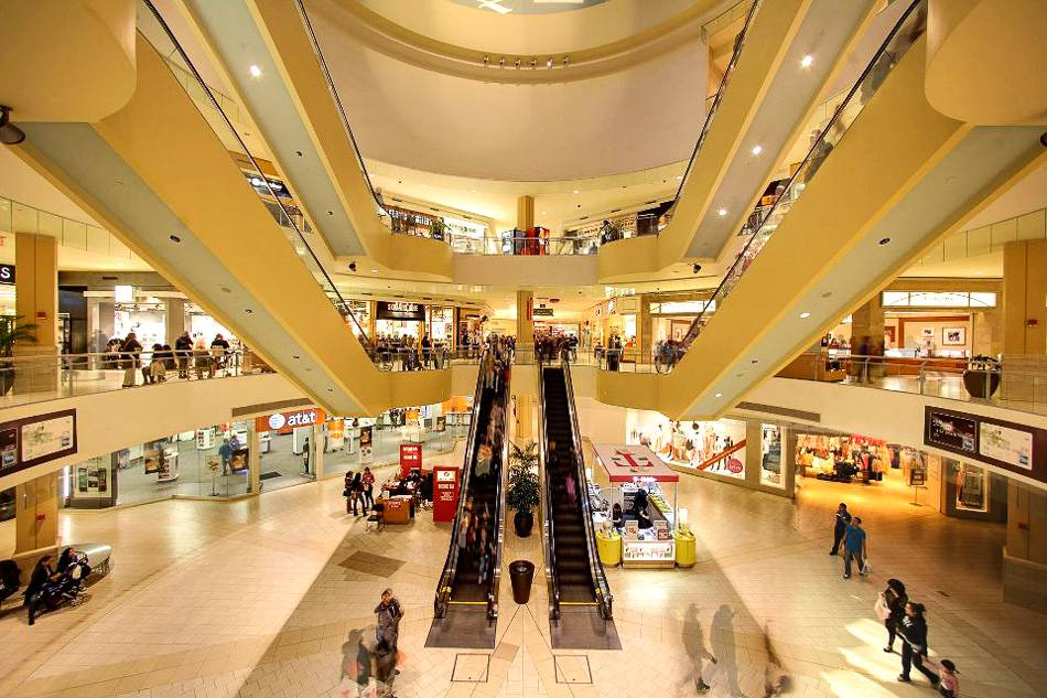 Foto der Queens Center Mall in New York City