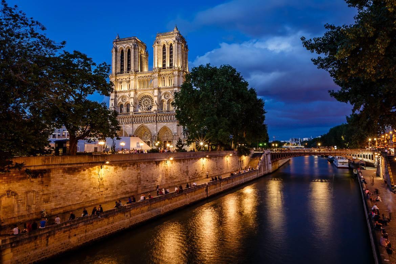 Foto der Kathedrale Notre-Dame de Paris