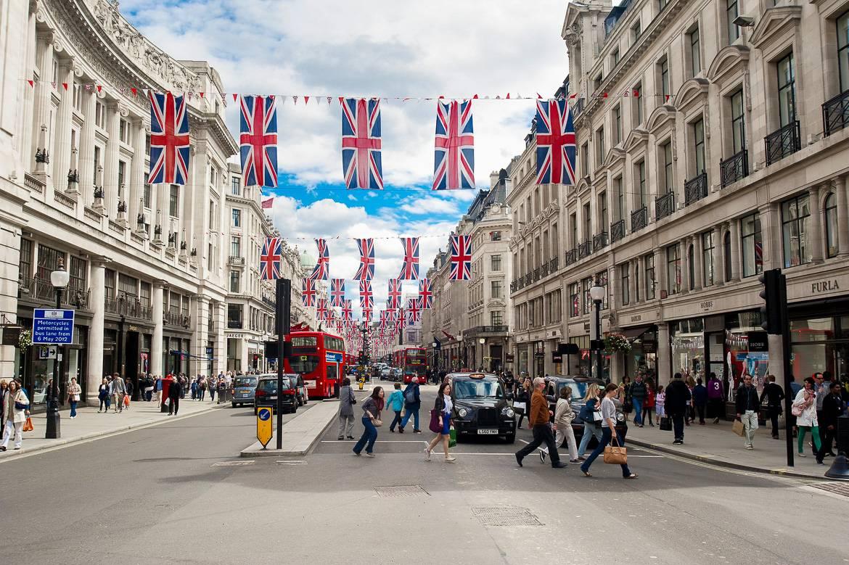 Bild von Londons Straßen.
