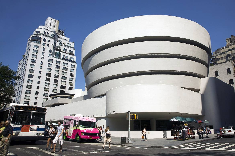 Bild vom Salomon R. Guggenheim Museum
