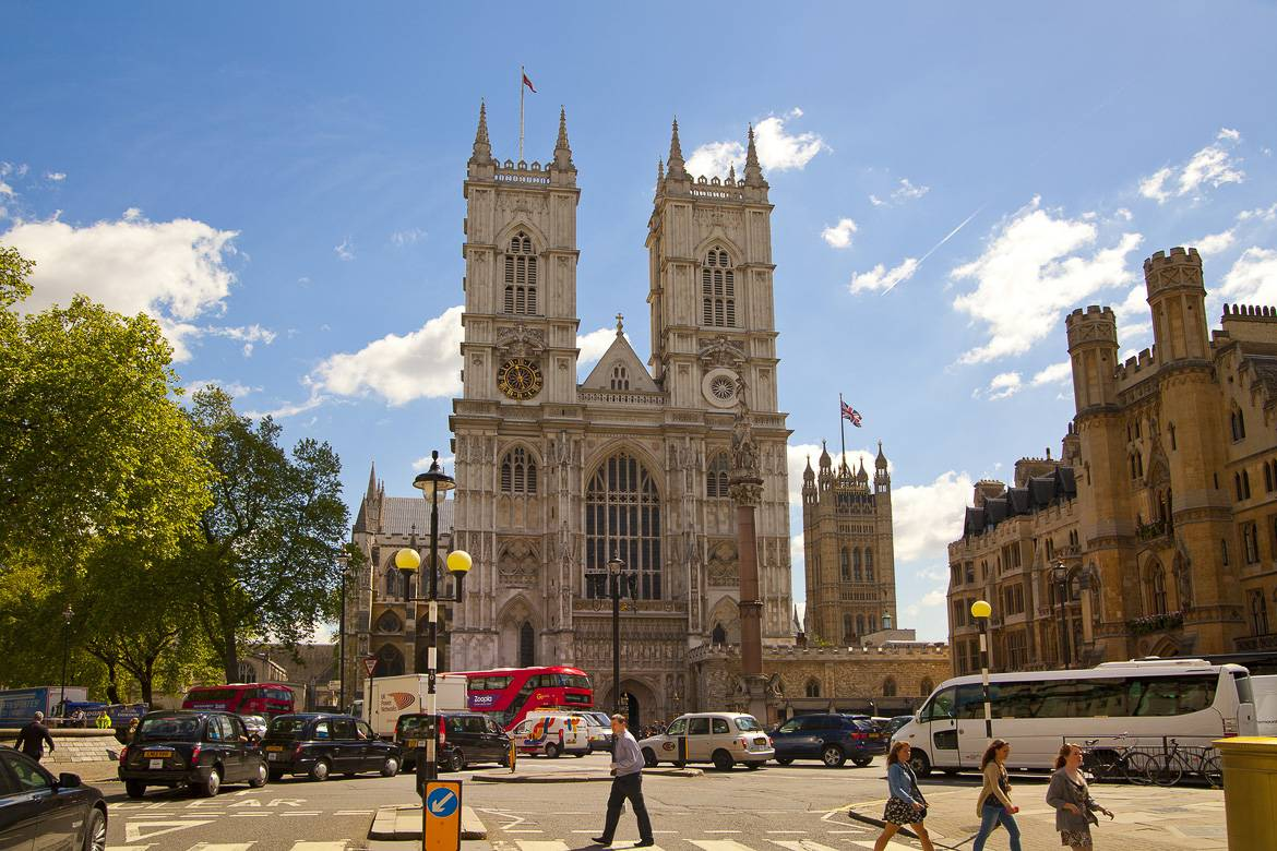 Foto des Westminster Abbey