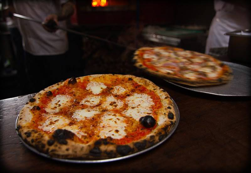 Bild einer Pizza von Roberta's.