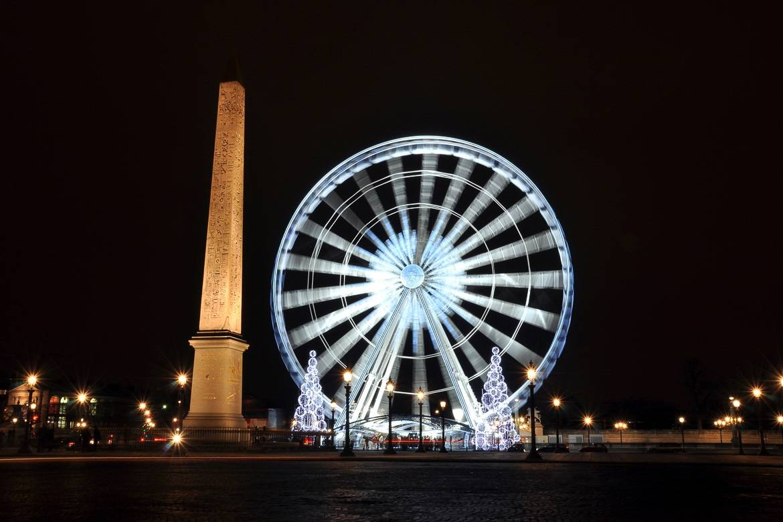 Riesenrad auf der Place de la Concorde