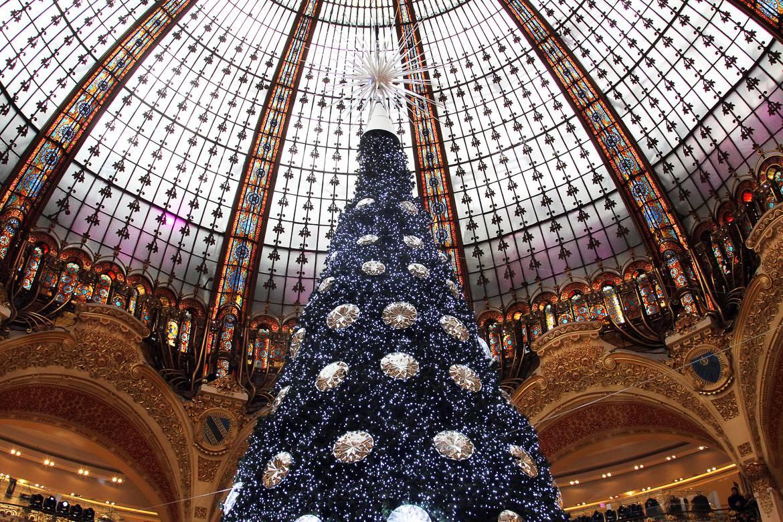 Weihnachten in den Galleries Lafayette