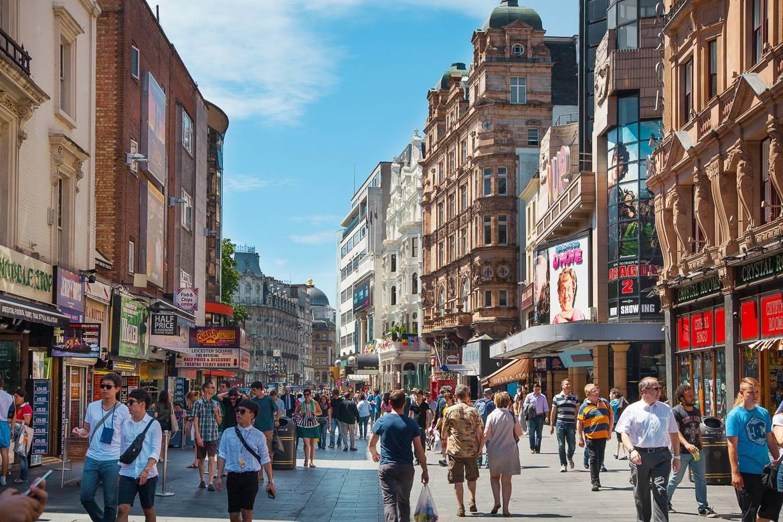 Bild vom Leicester Square