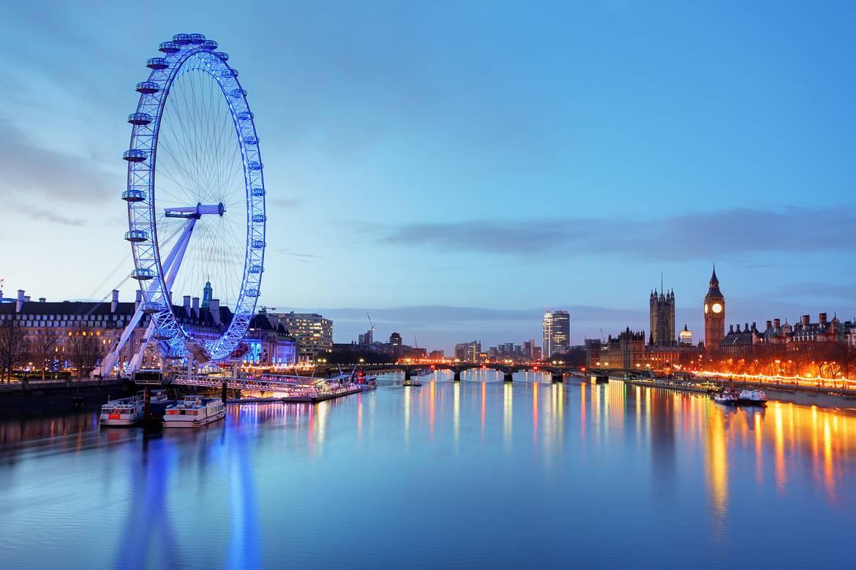 Als größtes Riesenrad Europas ist das London Eye einen Besuch wert.
