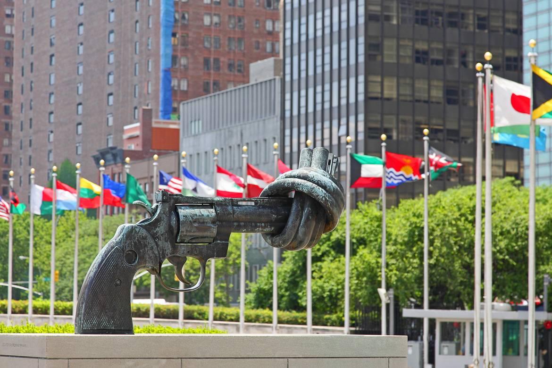 Foto des United Nations-Gebäude