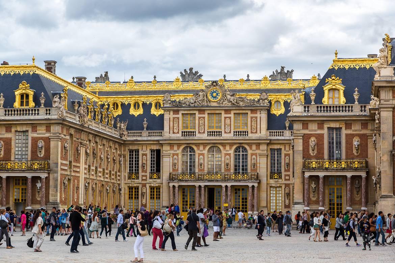 Bild vom Château de Versailles.