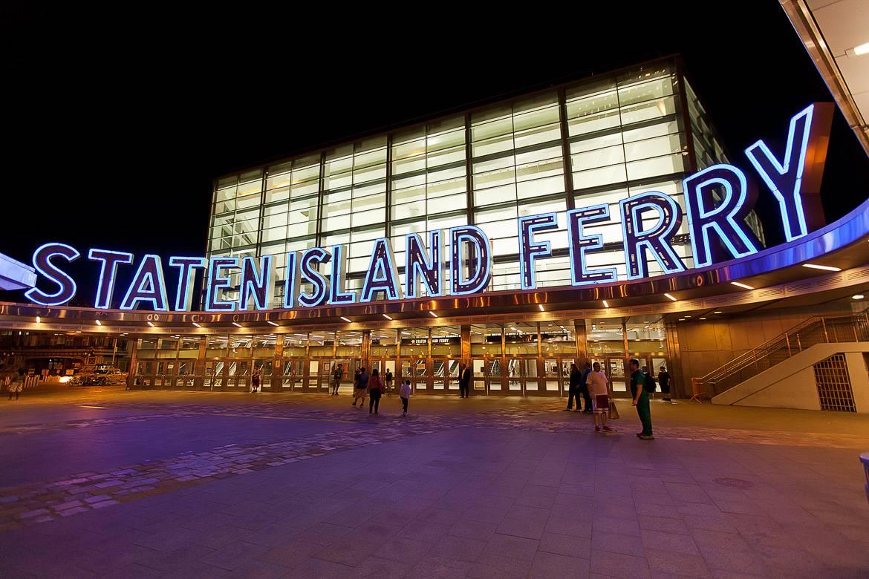 Bild des State Island Fähren Terminals.
