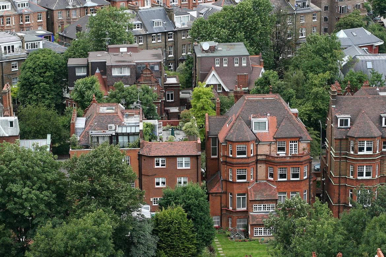 Bild vom Hampstead Heath Ausblick