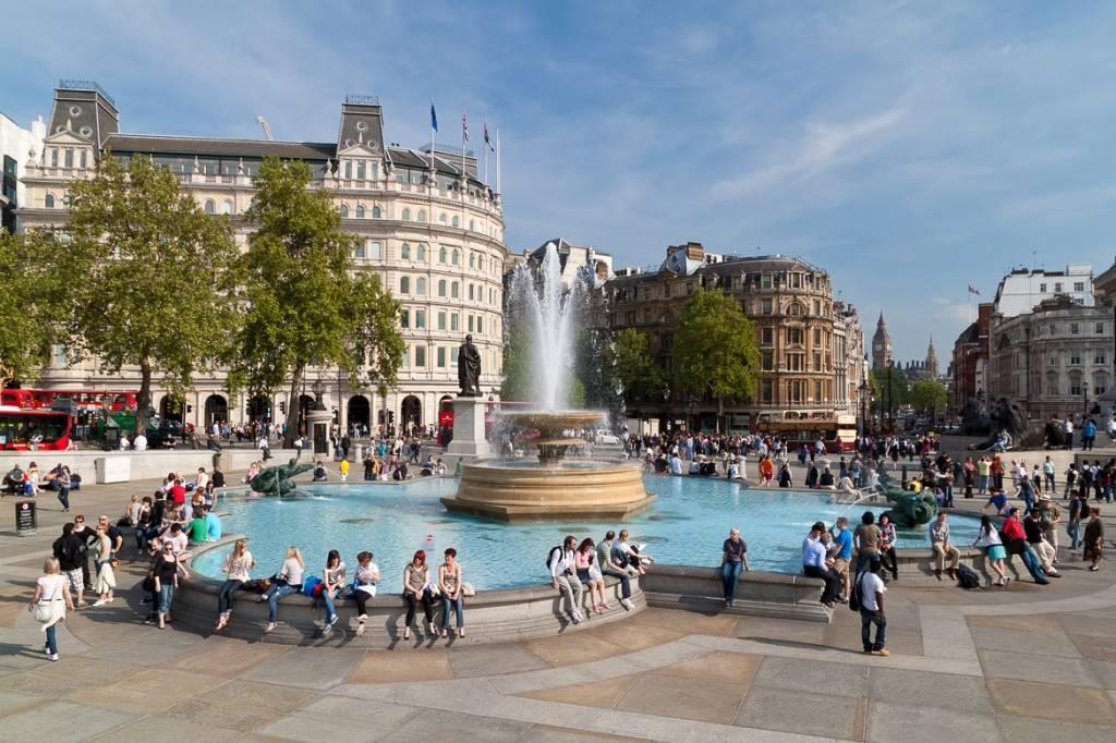 Bild vom Trafalgar Square