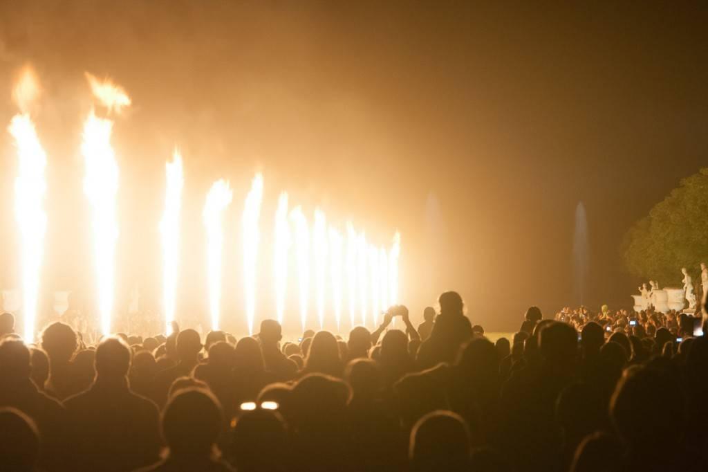 Bild vom Feuerwerk