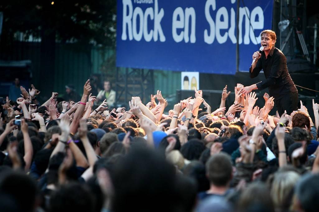 Bild vom Musikfestival