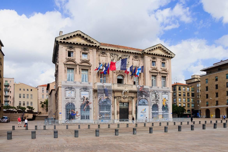 Foto des Hôtel de Ville in Marseille