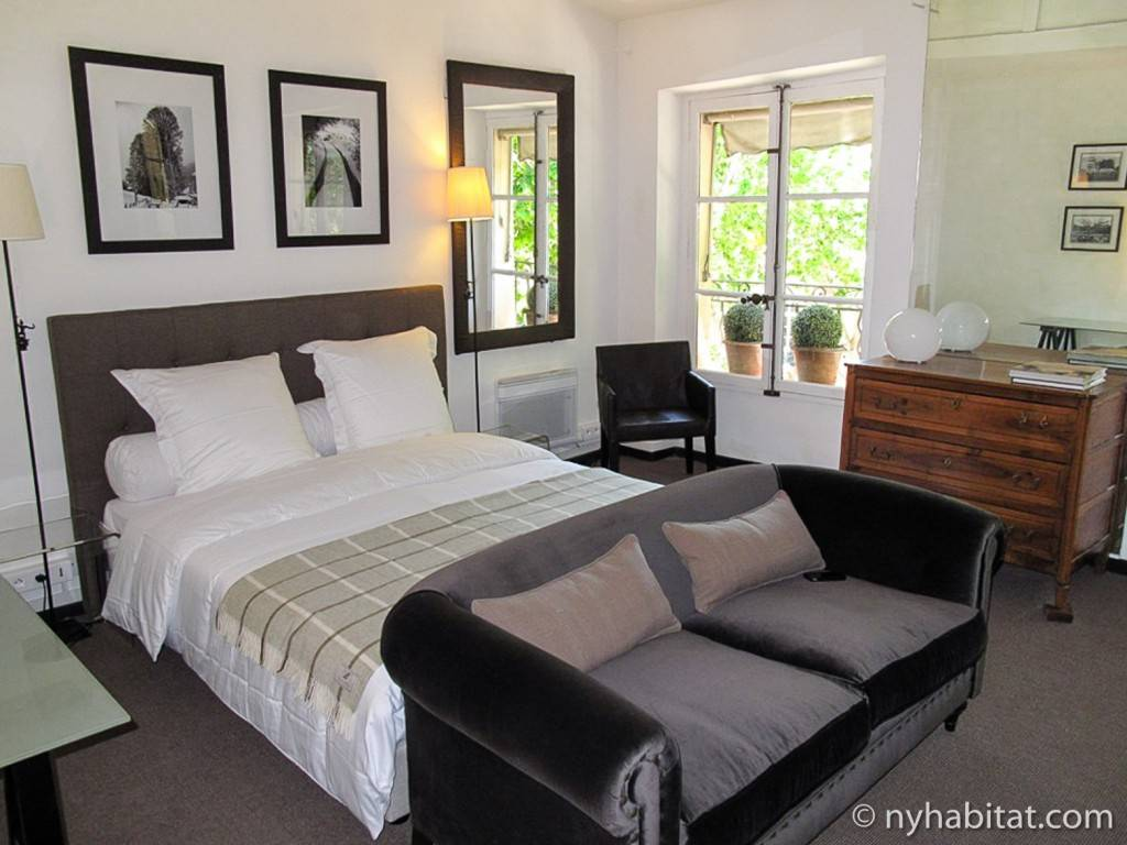 Bild eines Schlafzimmers in Aix-en-Provence