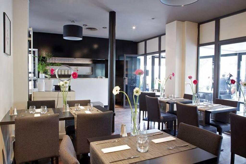 Bild der Inneneinrichtung des Cafés