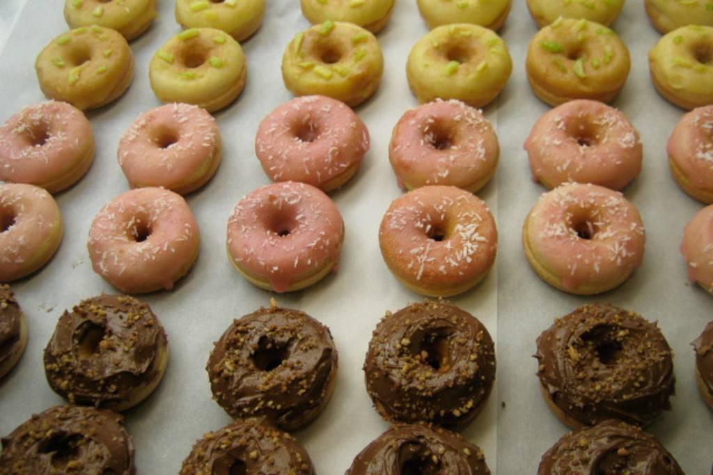Bild mit Doughnuts
