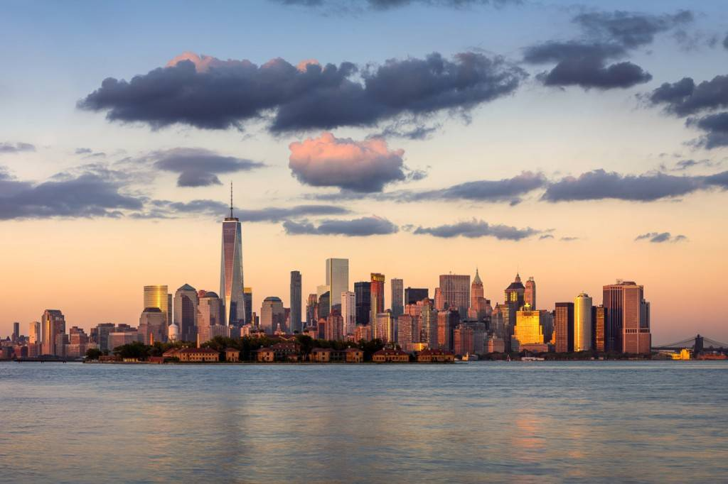 Bild der NYC Skyline