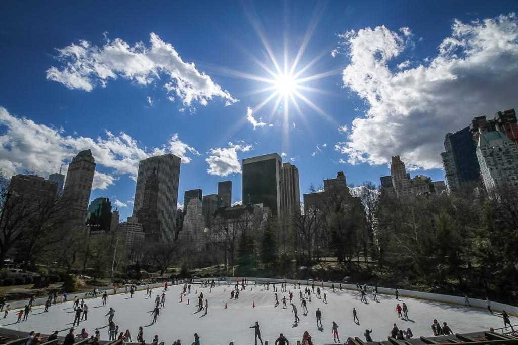 Bild der Wollman-Eislaufbahn im Central Park