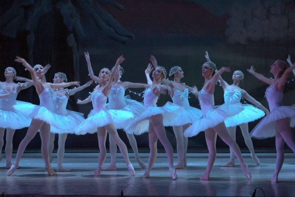 Bild der Ballettaufführung von Der Nussknacker